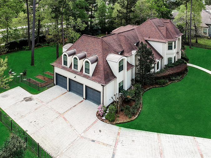 high quality Friendswood, TX aerial / drone photography